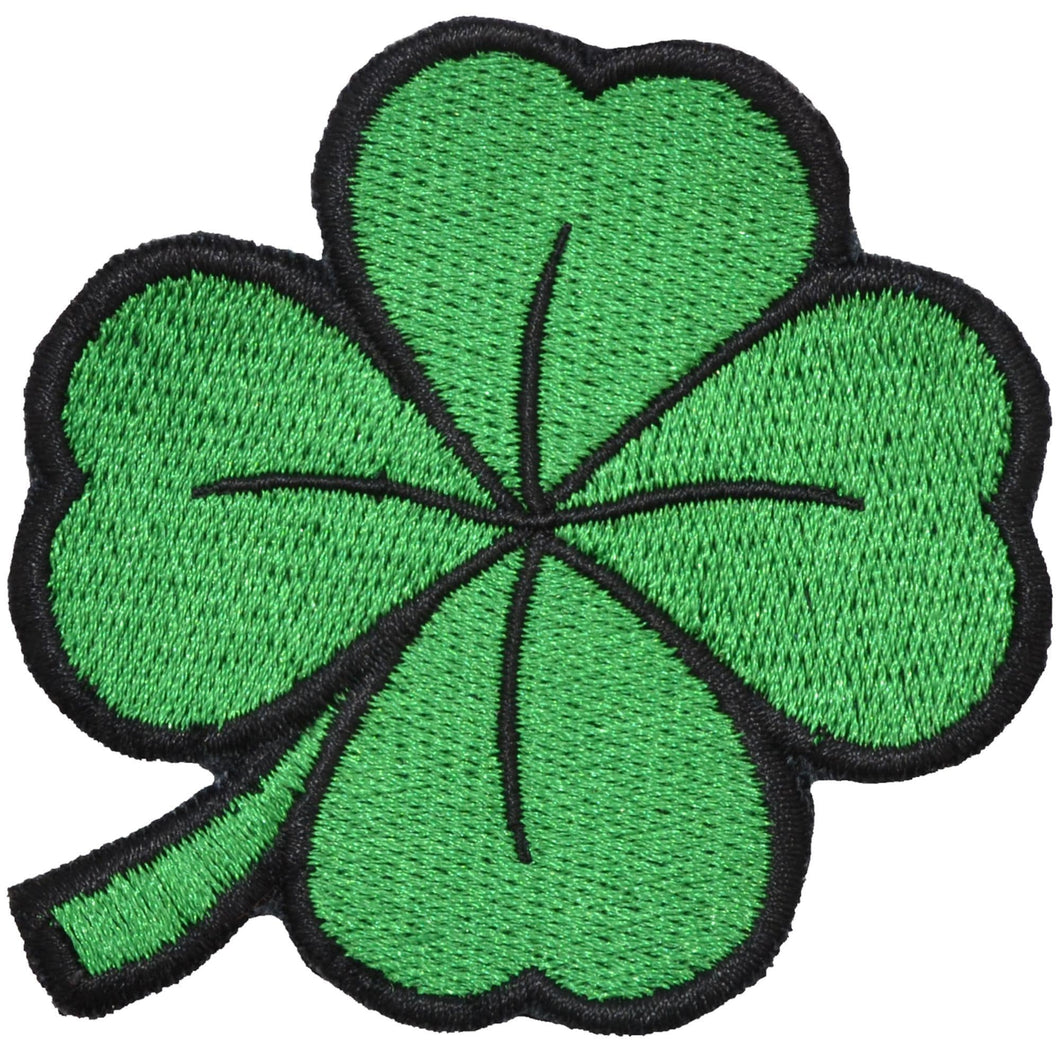 Shamrock Four Leaf Clover 2 5x2 5 Patch Tactical Gear Junkie