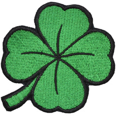Shamrock Four Leaf Clover - 2.5x2.5 Patch