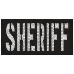 SHERIFF Laser Cut Reflective - 2x4 CORDURA® Patch