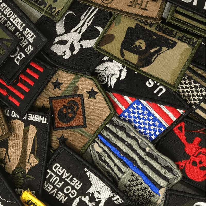 Tactical Gear Junkie Patches Seconds Patch Lot - 20 Random Patches