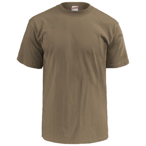 Soffe 3 Pack - Adult USA Poly Cotton Military T-Shirt