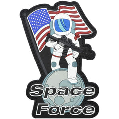 Space Force - 4x2.5 inch PVC Patch