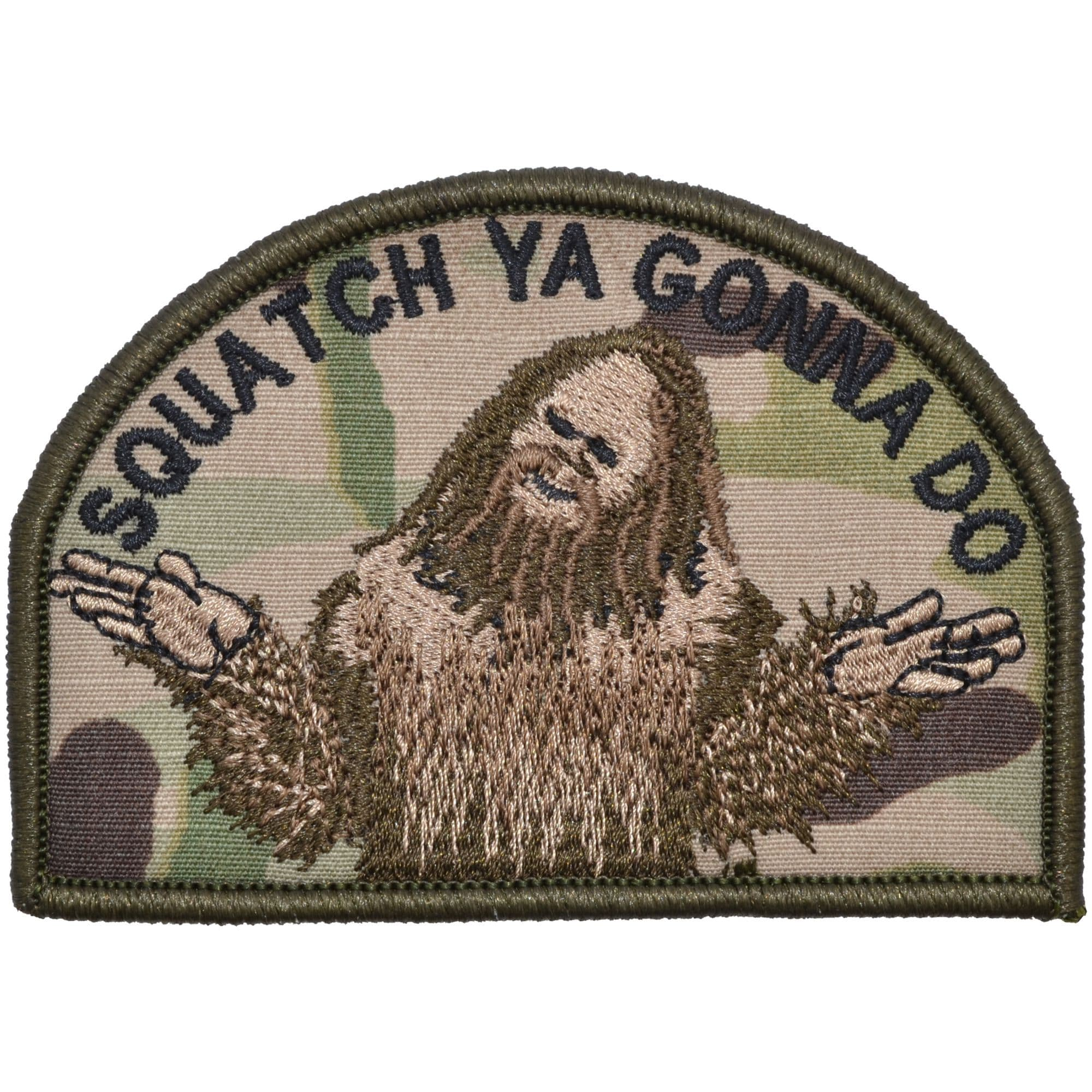 Tactical Gear Junkie Patches MultiCam Squatch Ya Gonna Do - 2.75x4 Patch