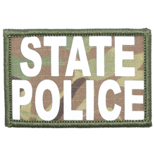 State Police Reflective - 2x3 Patch