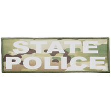 State Police Reflective - 4x12 Patch