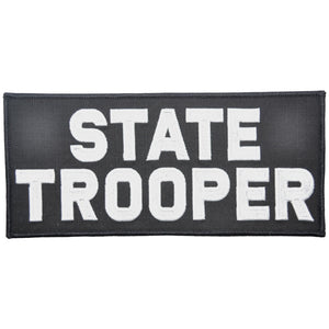 State Trooper - 4x9 Patch