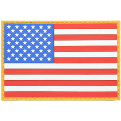 USA Flag Full Color - 2x3 PVC Patch