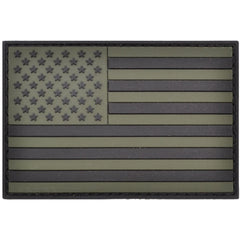 USA Flag Olive Drab - 2x3 PVC Patch