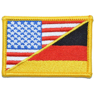 Germany / USA Flag - 2x3 Patch