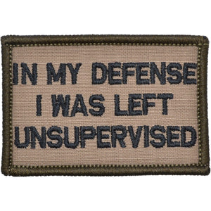 In My Defense I Was Left Unsupervised - 2x3 Patch