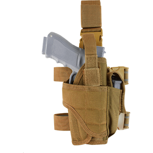 Condor Tactical Gear Coyote Brown Condor Tornado Tactical Leg Holster
