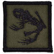 Navy Seal Frog - 2x2 Patch