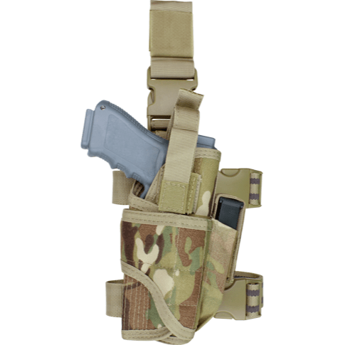 Condor Tactical Gear Multicam Condor Tornado Tactical Leg Holster