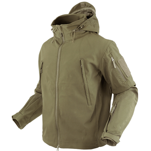 Condor Apparel Tan / S Condor Summit Tactical Soft Shell Jacket