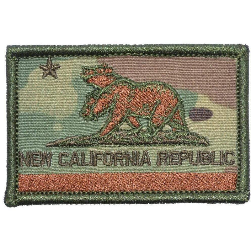 Tactical Gear Junkie Patches MultiCam New California Republic NCR State Flag - 2x3 Patch