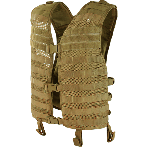 Condor Tactical Gear Coyote Brown Condor Mesh Hydration Vest