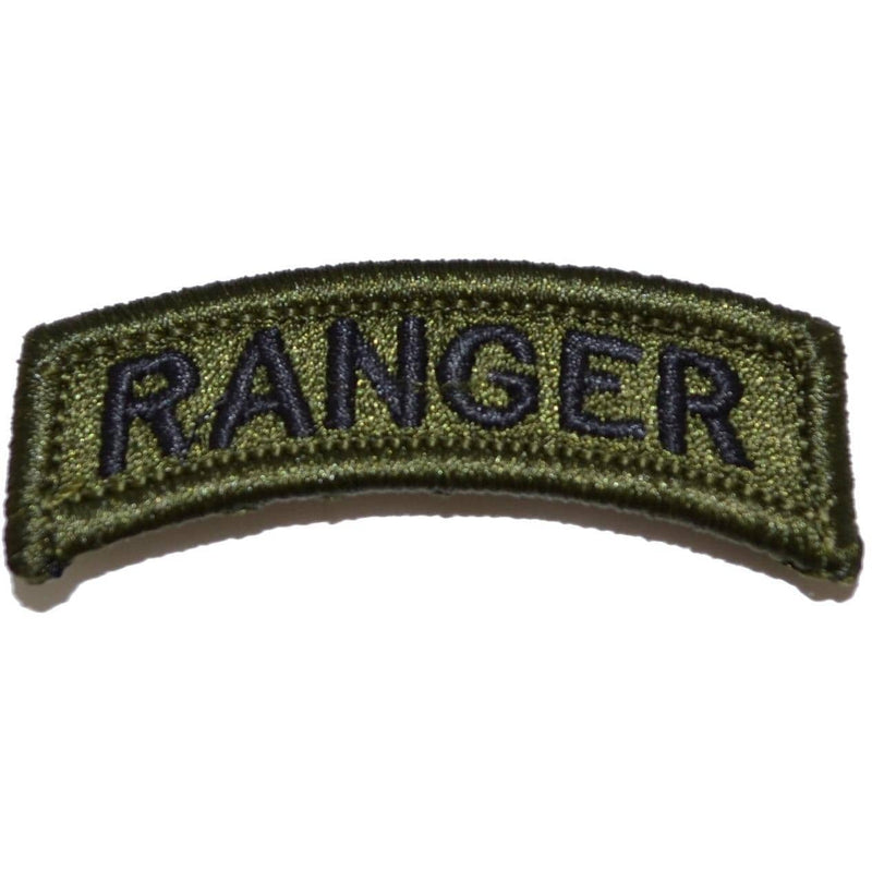 Tactical Gear Junkie Patches Ranger Tab Patch - Olive Drab/Green
