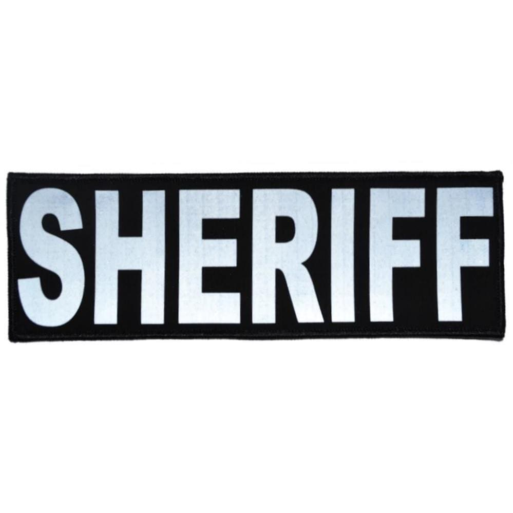 Reflective Sheriff Patch - 3inch x 9inch