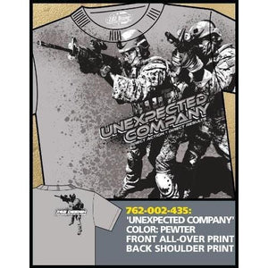 "7.62 Design Shirt ""Unexpected Company"" (Pewter)"