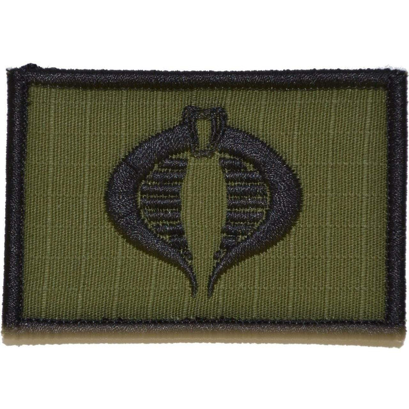 Tactical Gear Junkie Patches Olive Drab COBRA Command Seal - 2x3 Patch