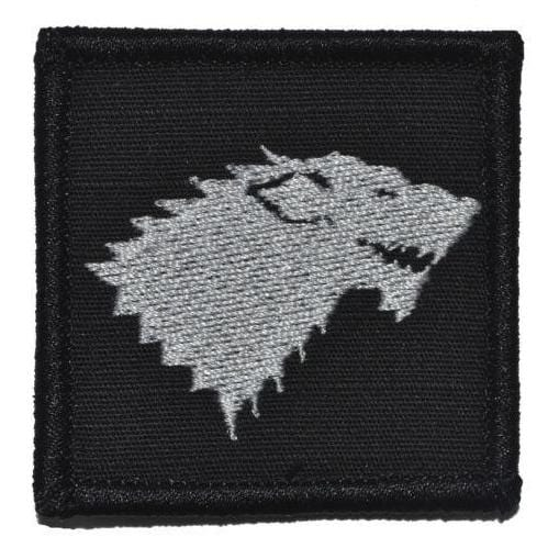 Stark Wolf Crest Game of Thrones - 2x2 Patch