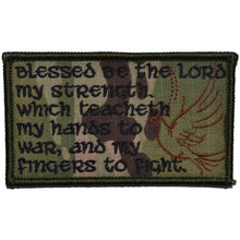 Psalm 144, Blessed Be the Lord - 2.25x3.5 Patch