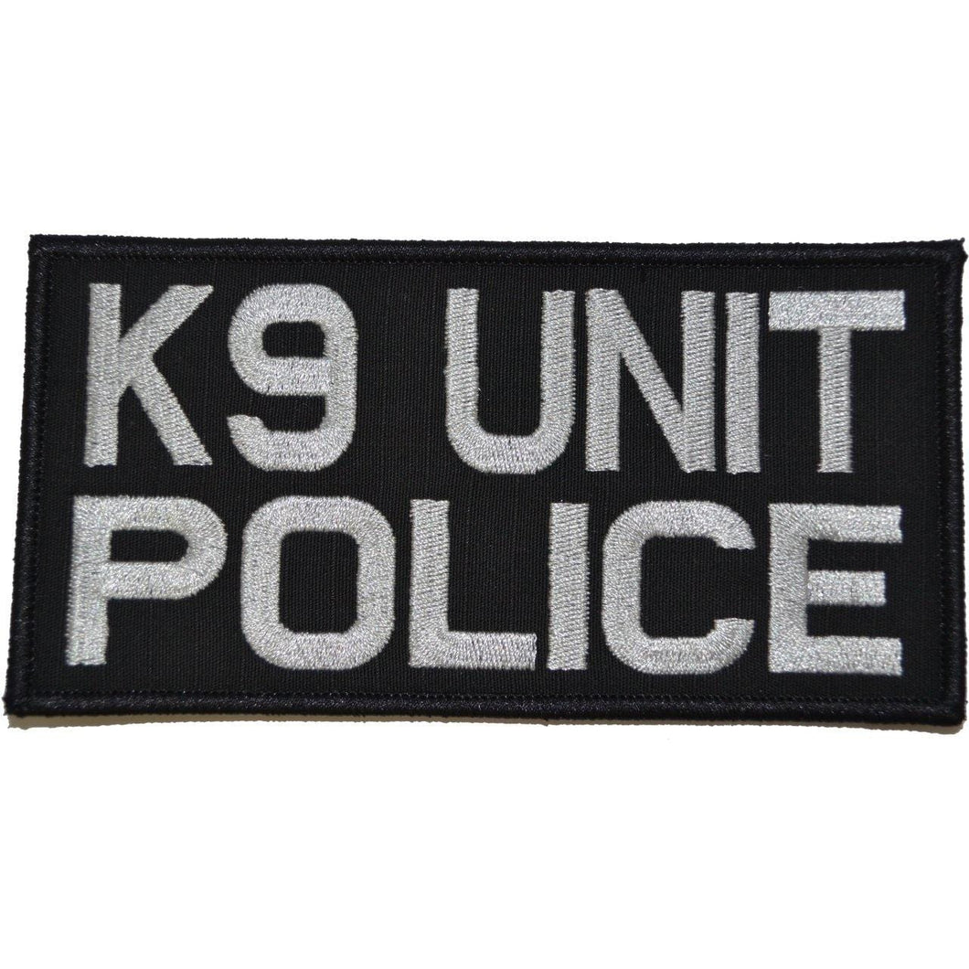 K9 Unit Police - 3x6 Patch