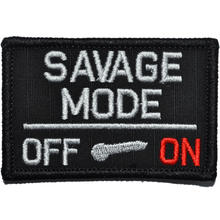 Savage Mode Activated - 3x2 Hat Patch