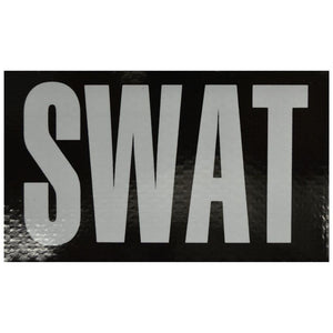 IR (Infrared) Patch, SWAT 3 in x 5 in (White Graphic)