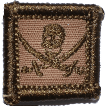 Pirate Jolly Roger - 1x1 Patch