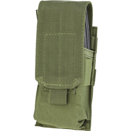 Condor Tactical Gear Olive Drab Condor Single M4 Hook & Loop Top Mag Pouch