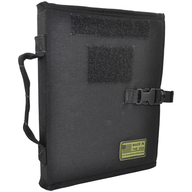 Tactical Gear Junkie Accessories Black Tactical Patch Book - American Made