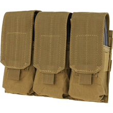 Condor Triple M4 Hook & Loop Top Mag Pouch