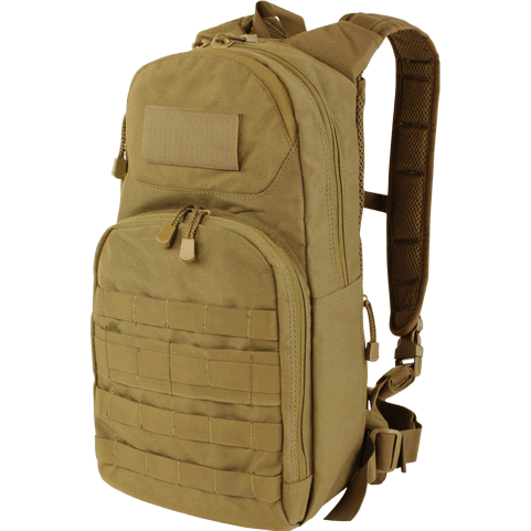 Condor Tactical Gear Coyote Brown Condor Fuel Hydration Pack