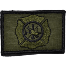 Fire Fighter Maltese Cross 2x3 Patch