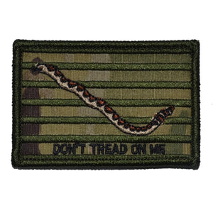 "Original Gadsden Snake ""Dont Tread On Me""  Flag- 2x3 Patch"