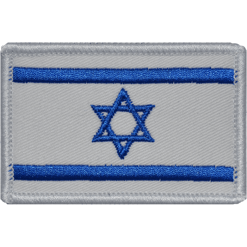 Tactical Gear Junkie Patches Full Color Israel Flag - 2x3 Patch
