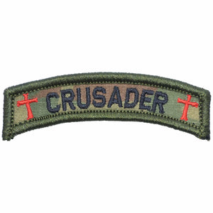 Crusader Templar Cross - Tab Patch