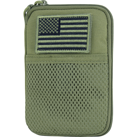 Condor Tactical Gear Olive Drab Condor Pocket Pouch with US Flag Patch