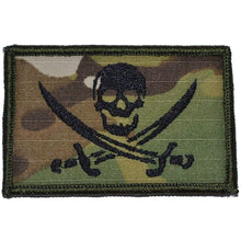 Pirate Jolly Roger - 2x3 Patch