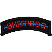 Sheepdog Thin Blue Line Tab Patch