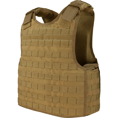 Condor Tactical Gear Coyote Brown Condor Defender Plate Carrier