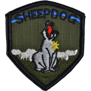 Sheepdog - 2.5x3 Shield Patch