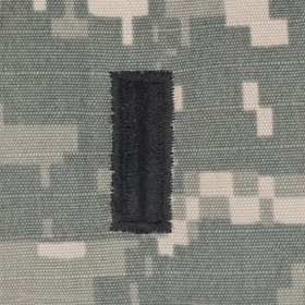 Tactical Gear Junkie Rank 1LT Army Rank - SEW ON - ACU