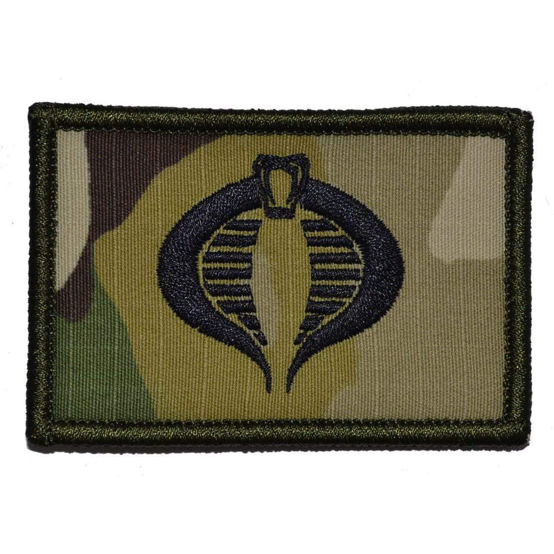 Tactical Gear Junkie Patches MultiCam COBRA Command Seal - 2x3 Patch