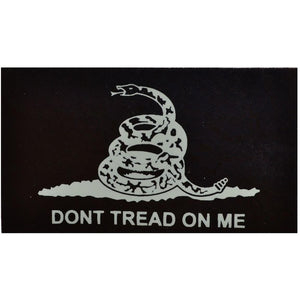 IR (Infrared) Don't Tread on Me Gadsden Snake (White Graphic) - 2x3.5 Patch