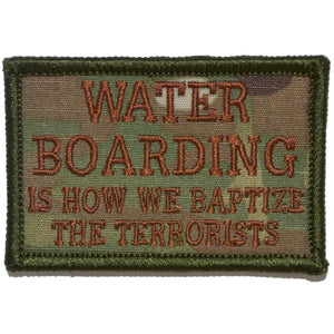 Water Boarding - 2x3 Patch