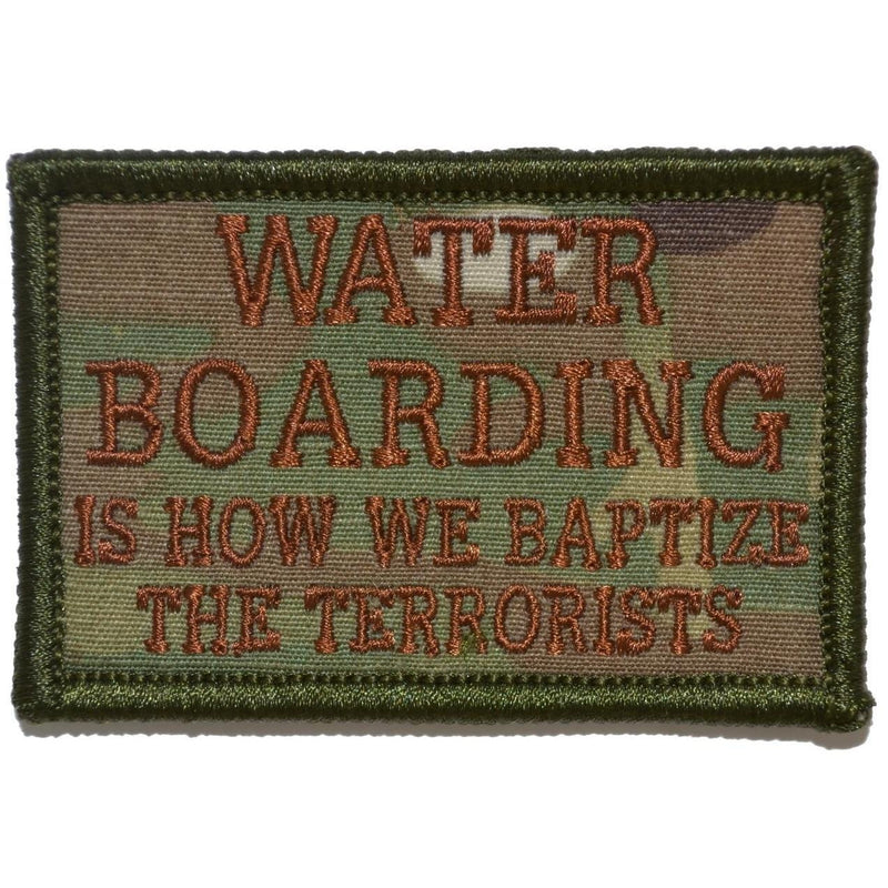 Water Boarding 2x3 Patch