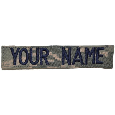 Single Name Tape w/ Hook Fastener Backing - ABU