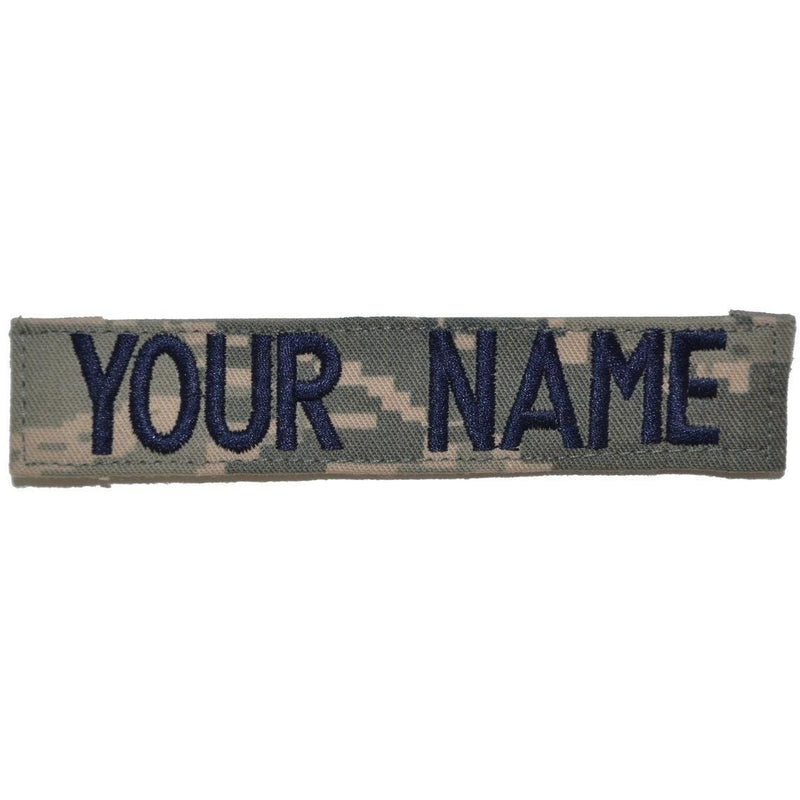 Tactical Gear Junkie Name Tapes Single Custom Name Tape w/ Hook Fastener Backing - ABU